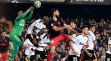 أتلتيكو مدريد يفرط في الفوز على فالنسيا