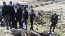 """العثور على جثة جنين غير مكتمل النمو  بمنطقة القويسمة في عمّان """"صور"""""""