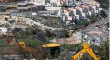 قوات الاحتلال تجرف اراضي جنوب نابلس لأغراض استيطانية