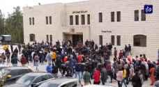 مشاركة فلسطينيين في برلمان السلام تشعل تظاهرة طلابية في جامعة بيرزيت (فيديو)