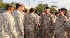 رئيس هيئة الأركان يتفقد عدداً من وحدات المنطقة العسكرية الوسطى