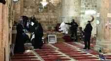 الاحتلال يقتحم مصلى باب الرحمة