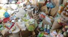 إتلاف مواد غذائية منتهية الصلاحية قبل وصولها موائد الأردنيين في معان