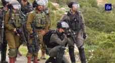 إصابة 56 فلسطينيا خلال مواجهات مع جيش الاحتلال في الأغوار الشمالية.. فيديو
