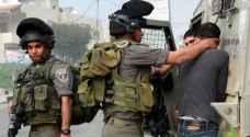 قوات الاحتلال تعتقل 27 فلسطينيا بينهم فتية ووالد شهيد