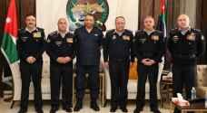 الحواتمة يكرم عددا من الضباط المتقاعدين برتبة لواء