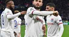 دوري أبطال أوروبا: ليون يفاجئ يوفنتوس بفوز تاريخي