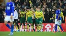 الدوري الإنجليزي: ليستر يواصل نتائجه المخيبة بسقوطه أمام نوريتش الأخير