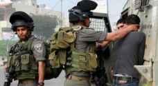 قوات الاحتلال تعتقل 5 فلسطينيين من الضفة المحتلة