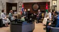 تفاصيل مباحثات الملك عبدالله الثاني مع ملك النرويج في عمان