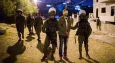 قوات الاحتلال تعتقل سبعة مواطنين من الضفة