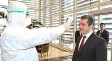 فحص رئيس حكومة كوردستان خشية إصابته بكورونا عقب عودته من الأردن .. صور