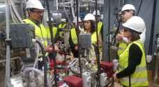 زواتي سعيدة بتشغيل المصنع التجريبي لاستخلاص اليورانيوم في الأردن