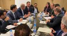 لأول مرة منذ سنوات وزير الصناعة الأردني في دمشق.. تفاصيل