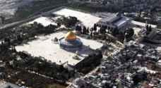 تعقيم المساجد المسقوفة في الأقصى خشية فيروس كورونا