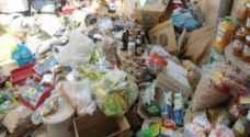 إتلاف 2 طن أغذية منتهية الصلاحية في معان
