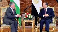 الملك يشدد على موقف الأردن الداعم لمصر في ملف سد النهضة