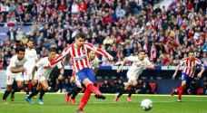 أتلتيكو مدريد يتعثر قبل مواجهة ليفربول