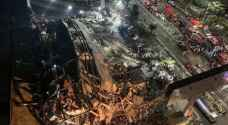 انهيار فندق مخصص لعزل المصابين بفيروس كورونا في الصين