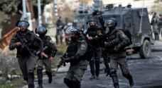 الاحتلال يعلن إصابة شابين فلسطينيين بالرصاص قرب رام الله