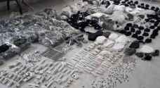 """ضبط معملين يصنعان """"معقمات وكمامات"""" مقلدة في عمان والرصيفة"""