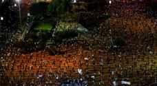احتجاج مناهض لنتنياهو يجذب الآلاف رغم قيود فيروس كورونا