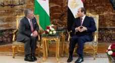 الملك والرئيس المصري يبحثان جهود التصدي لكورونا