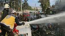 46 قتيلاً على الأقلّ في انفجار صهريج مفخّخ في شمال سوريا