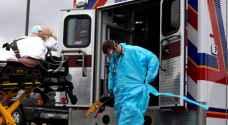1450 وفاة اضافية بفيروس كورونا خلال 24 ساعة بالولايات المتحدة