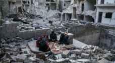 في سوريا .. إفطار رمضان على أطلال منزل مدمر