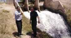 وزارة المياه: زيادة ساعات ضخ للمزارعين طيلة فترة موجة الحر
