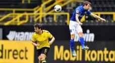 """الصور الأولى لمباريات الدوري الألماني في زمن الكورونا .. """"العالم يتعافى"""""""
