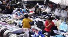 سوق البالة وجهة السوريين لشراء الملابس قبل عيد الفطر