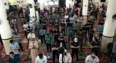 غزة تصلي الجمعة في زمن كورونا