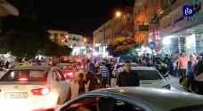 كيف كانت الأسواق قبل فرض حظر التجول في الأردن ليلة الخميس الجمعة الأخيرة من شهر رمضان ؟ .. فيديو