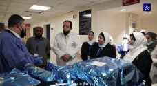 مبادرة بمناسبة عيد الاستقلال وعيد الفطر  لإدخال الفرح على قسم الأطفال في مستشفى البشير