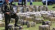 """بعد مطاردة 45 يوما ومشاركة 26 دولة.. ضبط كمية """"ضخمة"""" من المخدرات"""