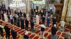 """لحظات مؤثرة .. المسجد الأقصى يستقبل المصلين بعد غياب دام 9 أسابيع """"فيديو"""""""