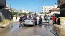 """الضفة الغربية .. قتيلان ومصاب بمشاجرة مسلحة جنوبي نابلس """"صور"""""""