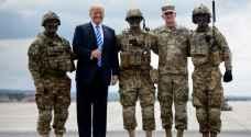 """ترمب يعلن نشر """"آلاف الجنود المدججين بالأسلحة"""" في واشنطن"""