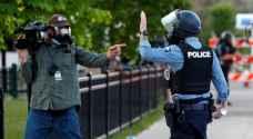 الأمم المتحدة تندد بالاعتداء على الصحفيين خلال احتجاجات أمريكا