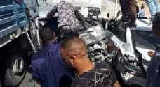 الأمن يكشف سبب حادث الصحراوي