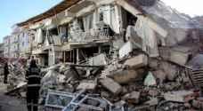 زلزال بقوة 5,7 درجات يضرب شرق تركيا