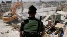 الاحتلال يهدم منزلين في اللد