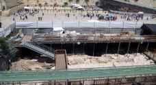 الاردن يقدم مذكرة احتجاج رسمية لحكومة الاحتلال حول حفريات في الحرم القدسي