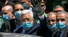 الرئيس عباس يطالب الفلسطينيين بالالتزام بلبس الكمامات والقفازات حماية من وباء كورونا ..فيديو
