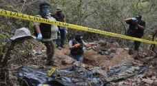 العثور على 215 جثة بمقابر جماعية في المكسيك