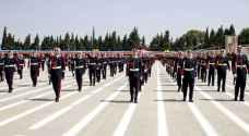 مندوباً عن الملك رئيس هيئة الأركان يرعى حفل تخريج فوج ضباط مؤتة 31 - صور