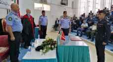 الاحتفال بتسليم شهادات خريجي كلية العلوم الشرطية