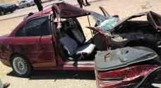 الأردن .. وفاة و5 إصابات بحادث تصادم على الطريق الصحراوي - صور